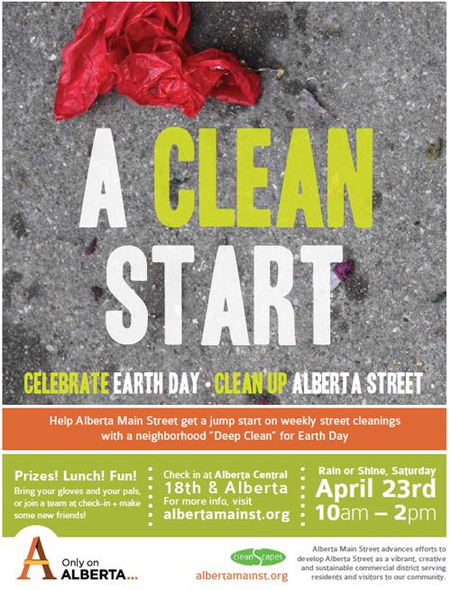 Clean Up Alberta Street