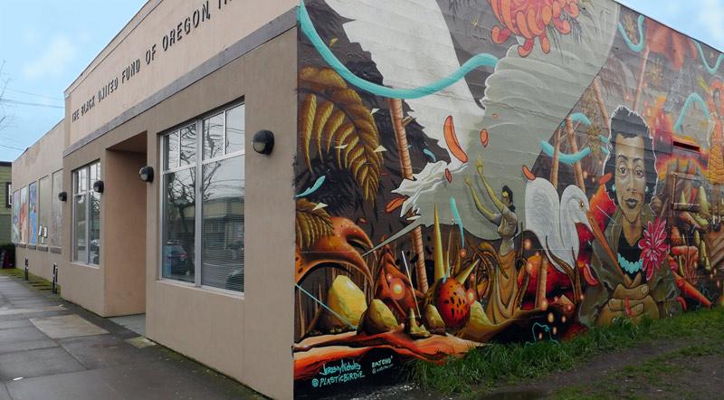 Black United Fund, Alberta Street, Portland, Oregon